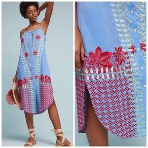 Lilka Embroidered Estina Dress NWT XS